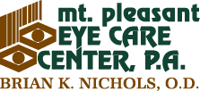 mt. pleasant eye care center, p.a.